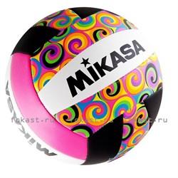 Мяч волейбольный MIKASA GGVB-SWRL р. 5, синт. кожа - фото 6816