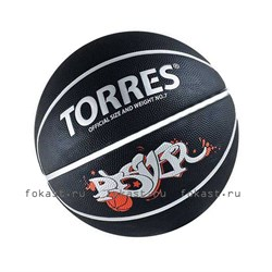 Мяч баскетбольный TORRES Prayer - фото 6929