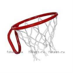 Кольцо баскетбольное с сеткой №3. D - 295мм. - фото 6931