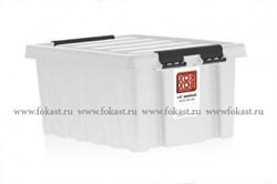 "Ящик пластиковый с крышкой ""RoxBox"" 2,5 л, прозрачный 210х170х105см - фото 8074"