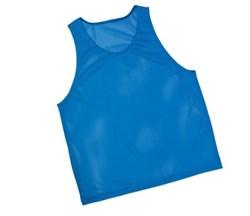 Манишка сетчатая юношеская, синяя - фото 9148