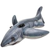 Надувная акула с ручками Intex 57525 (173x107 см)