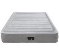 Надувная кровать со встр. насосом 220В Intex 67768 (137х191х33)