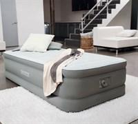 Надувная кровать Intex 64482 со встр. насосом 220V (99х191х46)