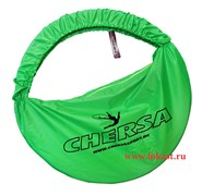 Чехол для обруча с карманом D 650, зеленый