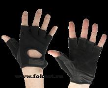 Перчатки для фитнеса STARFIT SU-114, черный