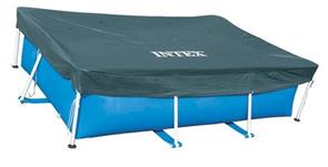 Тент для прямоугольного каркасного бассейна (389х184см)  Intex 28037