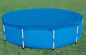 Тент для бассейна каркасного круглого 305 см Bestway 58036