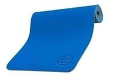 Коврик для йоги и фитнеса 173х61х0,6см 5460LW, синий/антрацит
