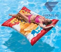 Матрас плавательный надувной Potato Chips Float Intex 58776
