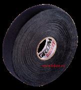 Лента хоккейная для крюка, 24мм х 25м, черный