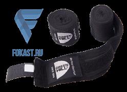 Бинт боксерский BP-6232c, 3,5м, эластик, черный