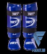 Защита голень-стопа Green Hill Battle SIB-0014, к/з, синяя