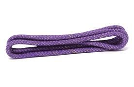 Скакалка для художественной гимнастики RGJ-304, 3м, фиолетовый/золотой, с люрексом
