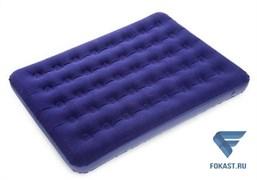 Кровать надувная флок, (191*137*22см) 67002