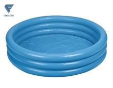 Бассейн детский-Синий кристалл 114х25см (59416)