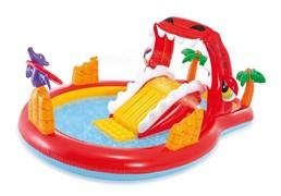 Игровой центр-бассейн Счастливый Динозавр Intex 57160 (259х165х107)