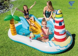 Игровой центр-бассейн Веселая рыбалка (218х188х99) Intex 57162