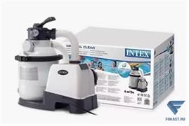 Песочный фильтр насос для бассейна (4000л/ч) Intex 26644 /28644