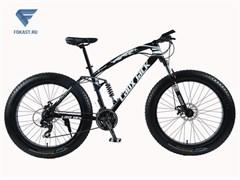 "Велосипед фэтбайк LauxJack Panthera ATX 8 Series 26"" резина 4.0 Black"