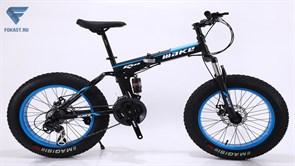 "Велосипед фэтбайк Make 20"" черно-синий"