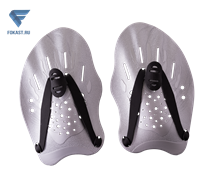 Лопатки для плавания Trial, серый