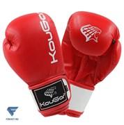 Перчатки боксерские KouGar KO200-6, 6oz, красный