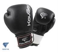 Перчатки боксерские KouGar KO400-8, 8oz, черный