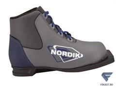 Ботинки лыжные NN75 Spine NORDIK серый