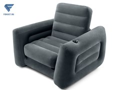 Надувное кресло-трансформер intex 66551