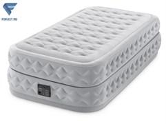 Кровать Supreme Air-Flow Fiber-Tech 99х191х51см со встр.насосом 220В 64488