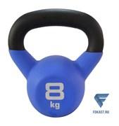 Гиря чугунная Sport Elite с виниловым покрытием 8 кг