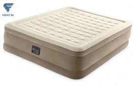 Кровать Ultra Plush Fiber-Tech 152х203х46см со встр.насосом 220 64458/64428