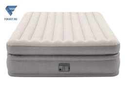 Надувная кровать Intex 64164 (152х203х51) с насос 220v