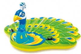 Надувной матрас-игрушка Павлин Intex 57250 (193х163х94)