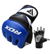 Перчатки для MMA GGRF-12U, синий RDX