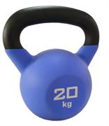 Гиря чугунная обрезиненная SportElite 20 кг