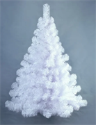 Ель искусственная Настенная белая 0.9 м
