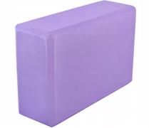Блок для занятий йогой Lite Weights 5496LW, фиолетовый