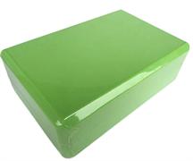 Блок для занятий йогой Lite Weights 5497LW, салатовый