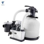 Хлоргенератор с фильтрующим насосом Intex 26680 для бассейна (10000л/ч)