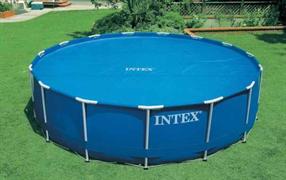 Тент солнечный прозрачный для бассейнов (488см) Intex 29024