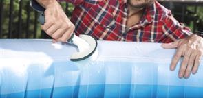 Набор для чистки джакузи, сачок, щетка, чистящая варежка Bestway 60310