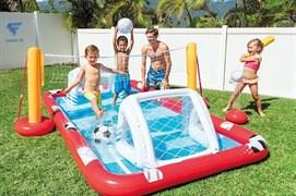 Игровой центр-бассейн Волейбо и Футбол Intex 57147 325х267х102
