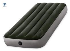 Надувной матрас Intex 64760 односпальный со встроенным ножным насосом