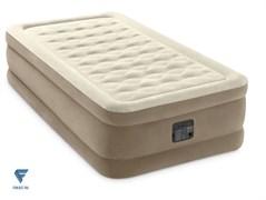 Надувная кровать Intex 64426 (99х191х46) с насосом электрическим