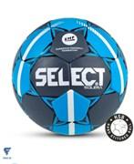 Мяч гандбольный SOLERA IHF №2, сер/син Select