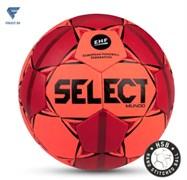 Мяч гандбольный MUNDO №3, оранж/крас/чер Select