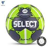 Мяч гандбольный SOLERA IHF №3, сер/лайм