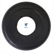 Диск обрезиненный черный MB ATLET d-51 1,25кг